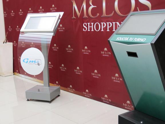 Kiosco metálico modelo Z