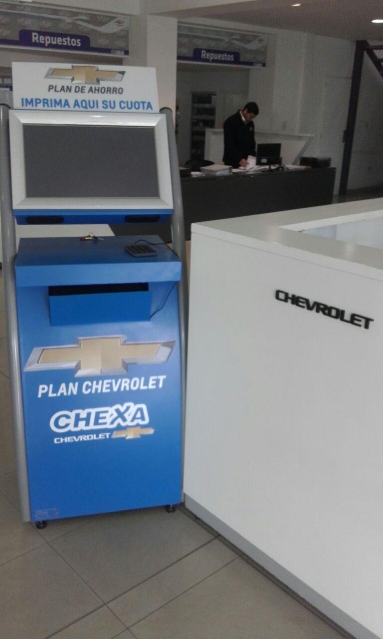 Modelo curvo con impresora laser