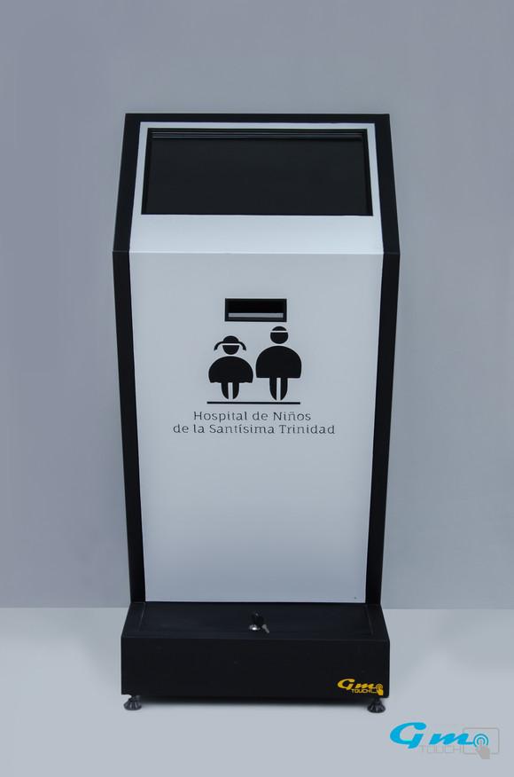 Kiosco metalico modelo Z
