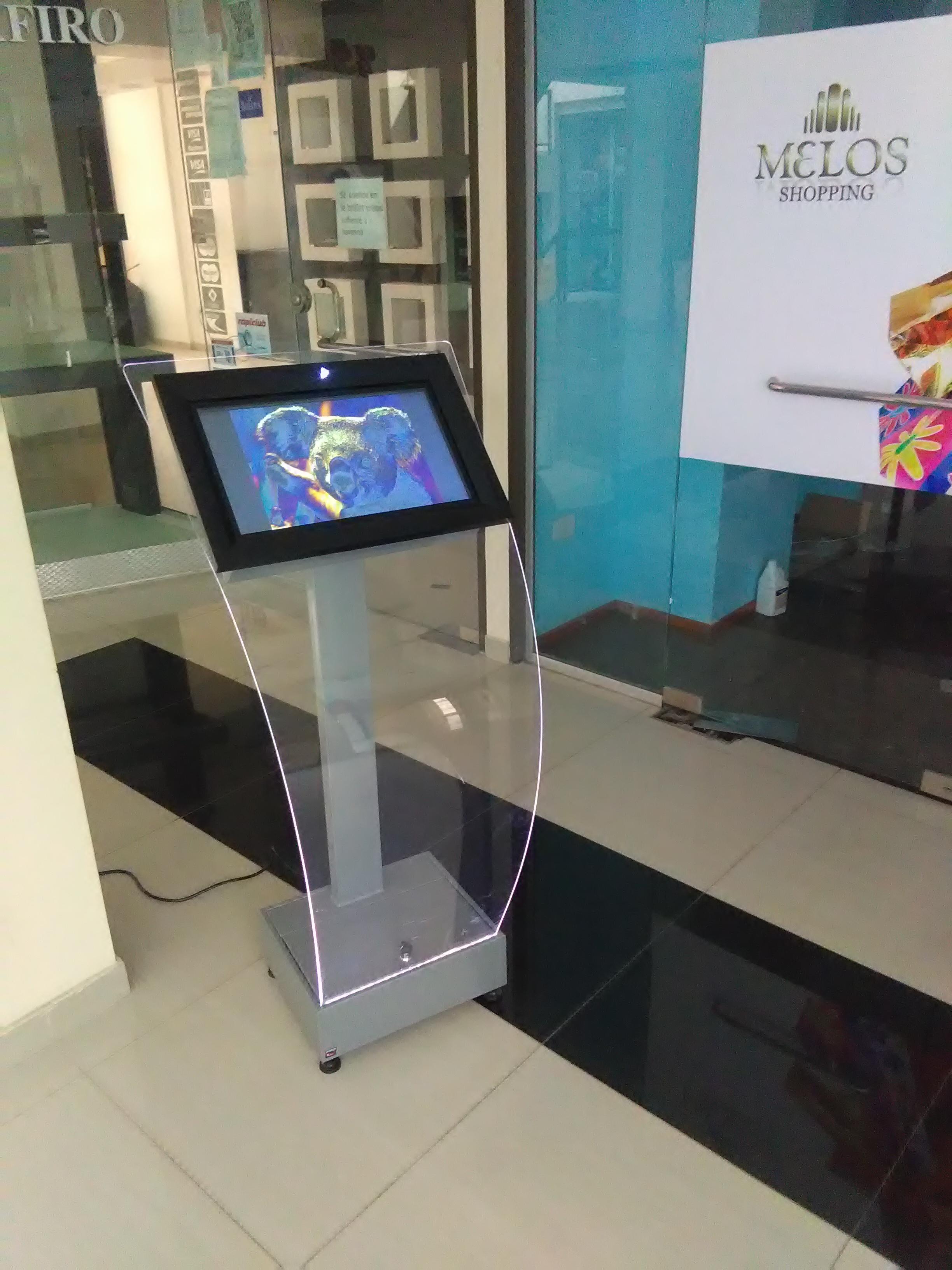 Kiosco modelo acrilico