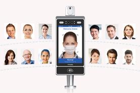 kiosco reconocimiento facial y toma de temperatura