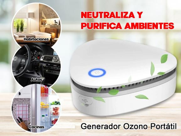 purificador ozono
