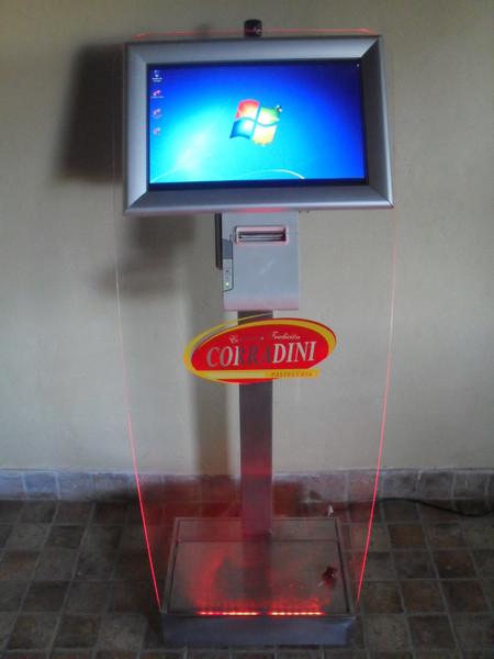 Kiosco modelo acrílico