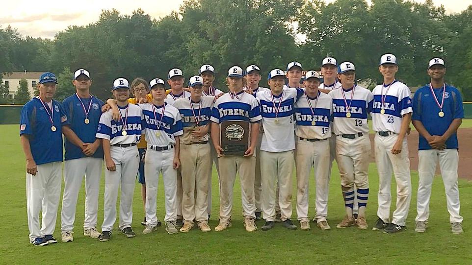 Eureka Legion Varsity •                   Missouri District 10 Champions!