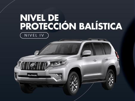 Nivel de protección balística - Nivel IV