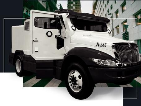 Vehículos blindados para transporte de valores