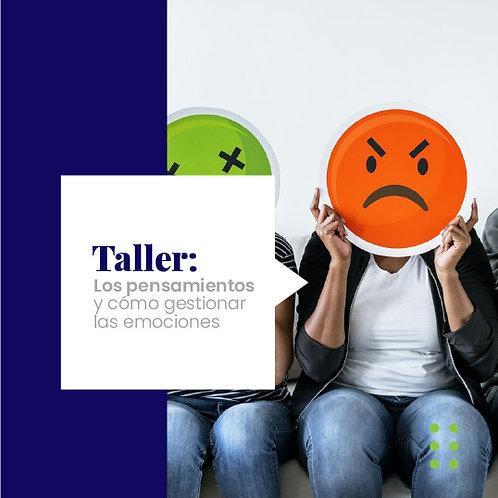 Taller, los pensamientos y cómo gestionarlos