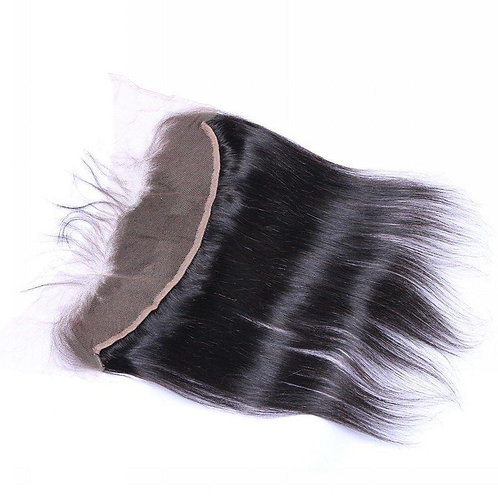 """13""""X4"""" Silky Straight Lace Frontal"""