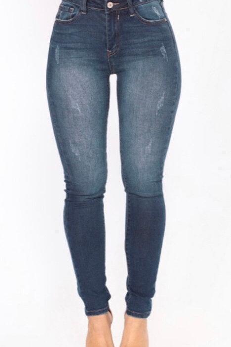 Mid Waist Diva Jeans