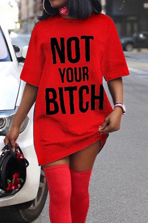Not Your BIHHH Dress
