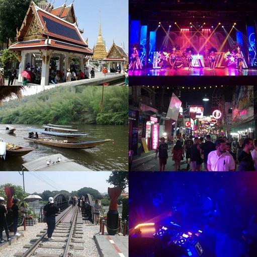 Bangkok, Chiang mai, Pattaya