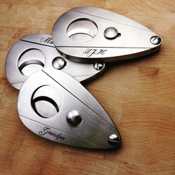 cigar cutters hand engraved