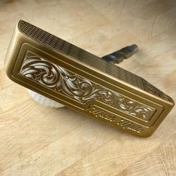 Mack Made putter engraved