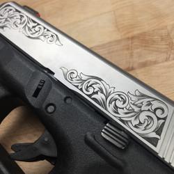 Glock 26 slide on frame detail