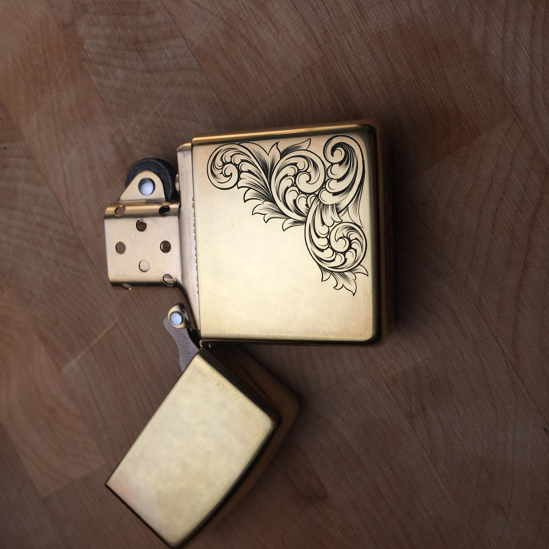 zippo engraved