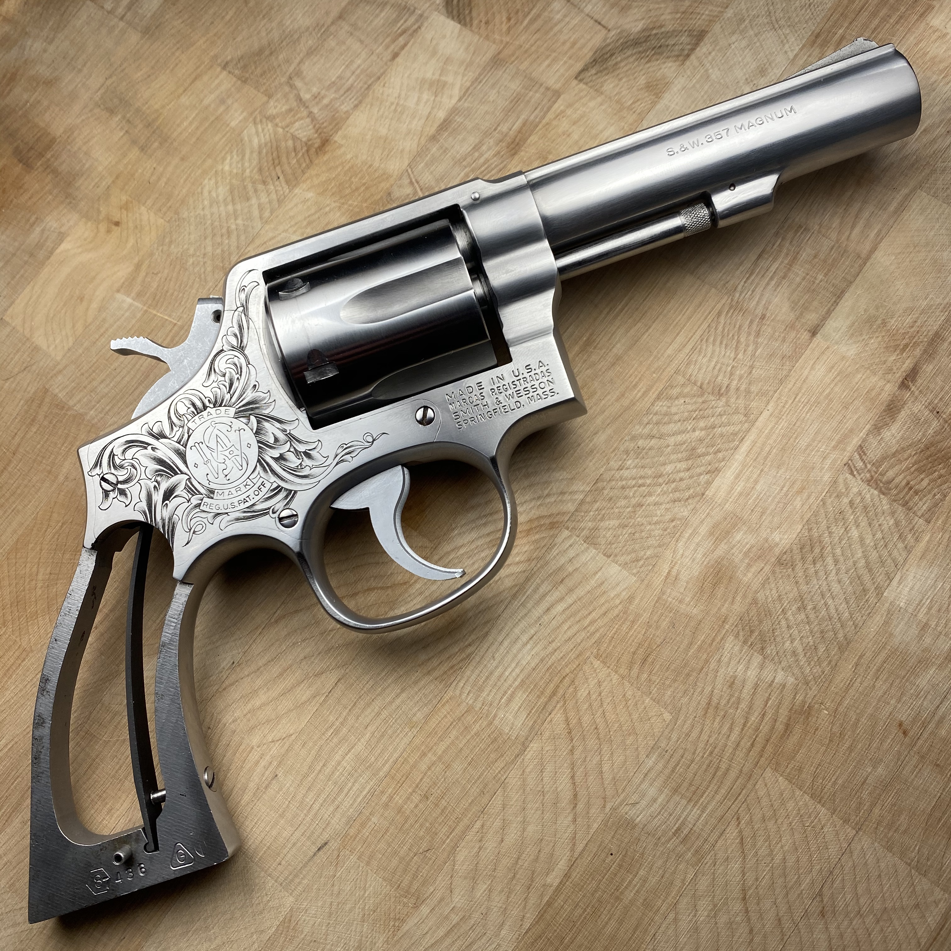 smith and wesson model 65-2 right side .