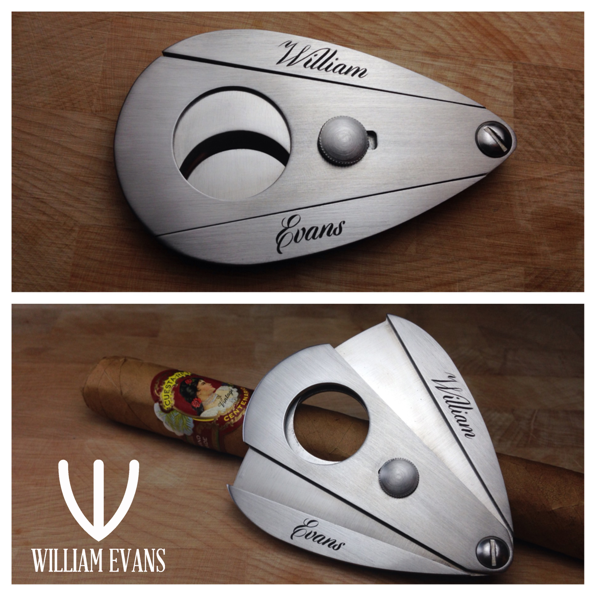 cigar cutter both pics with logo