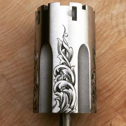 hand engraved cylinder