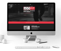 UDO Fit Personal Training website Design