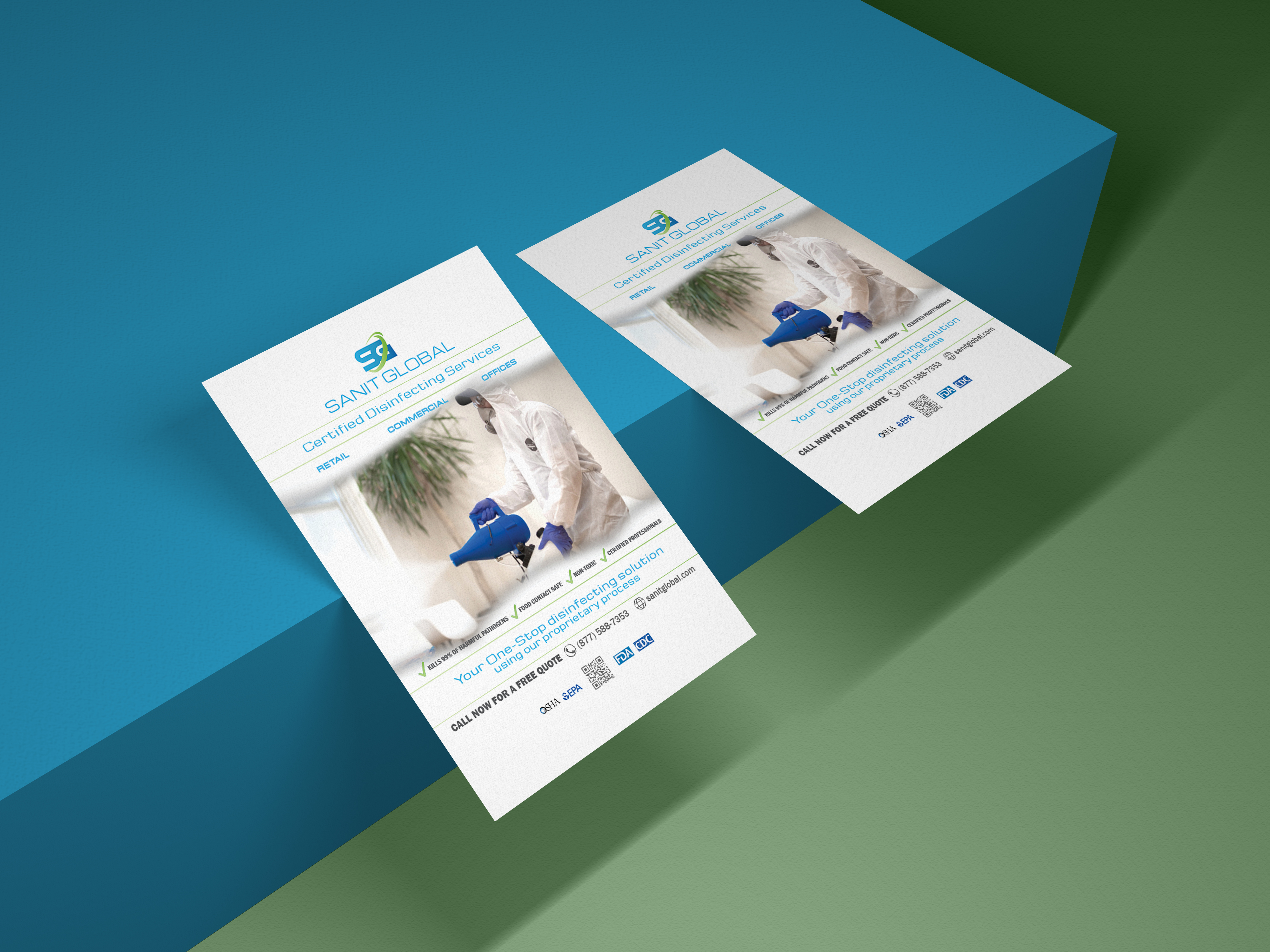 Business Sanitizing Brochure