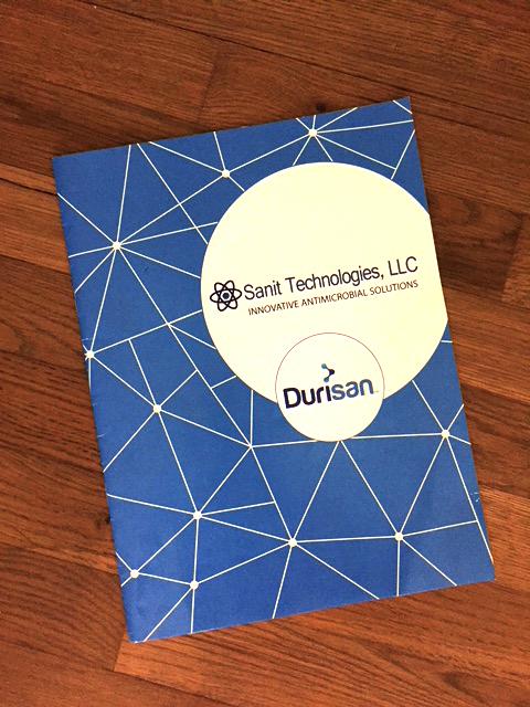 Durisan Brochure Front