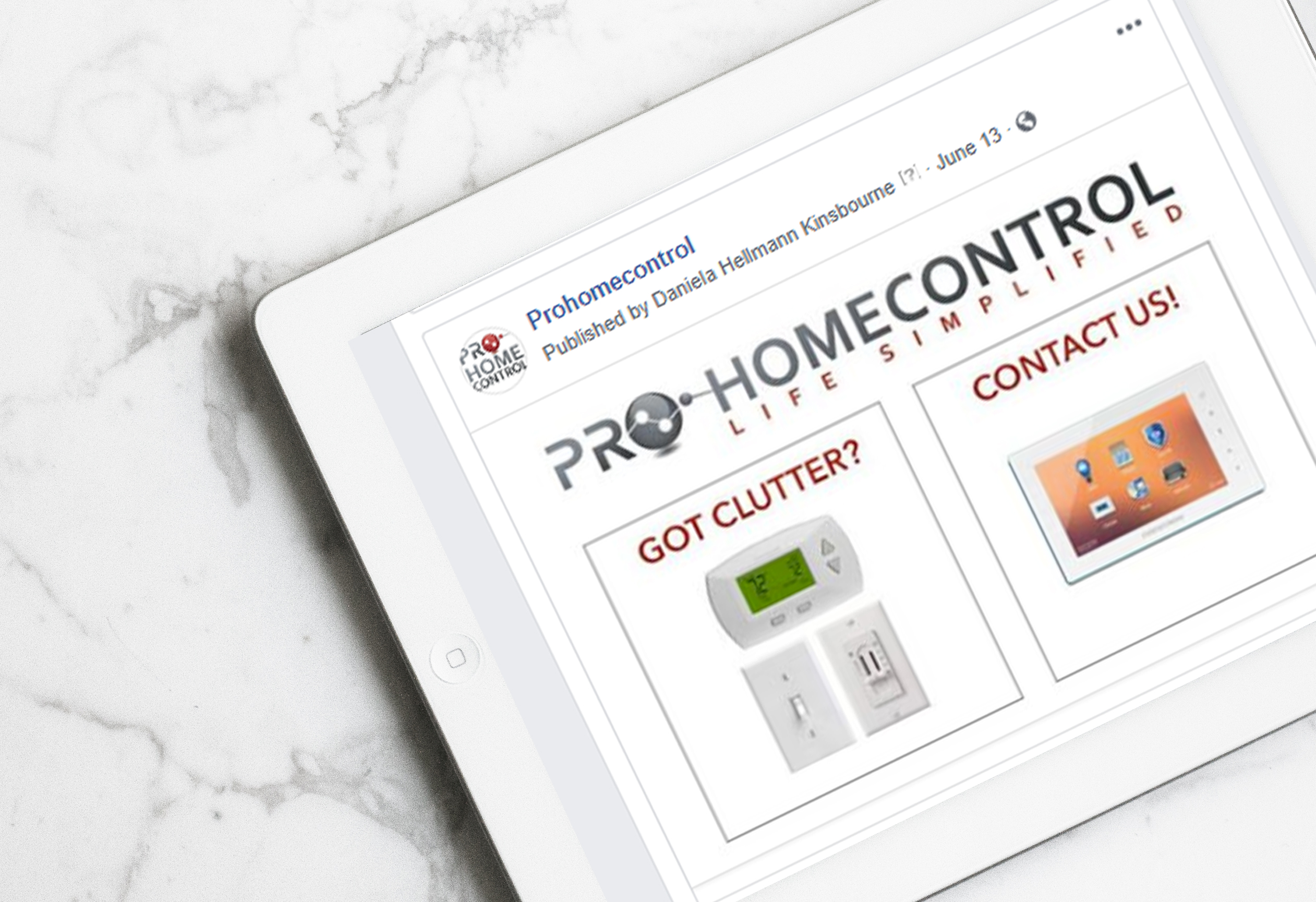 ProHomeControl Ad