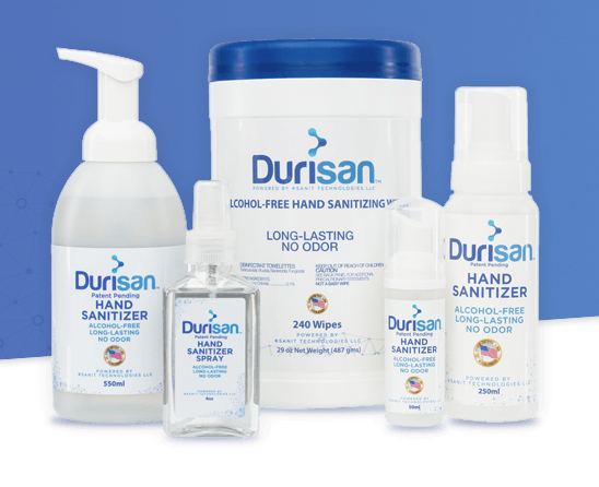 Durisan Package Label designs