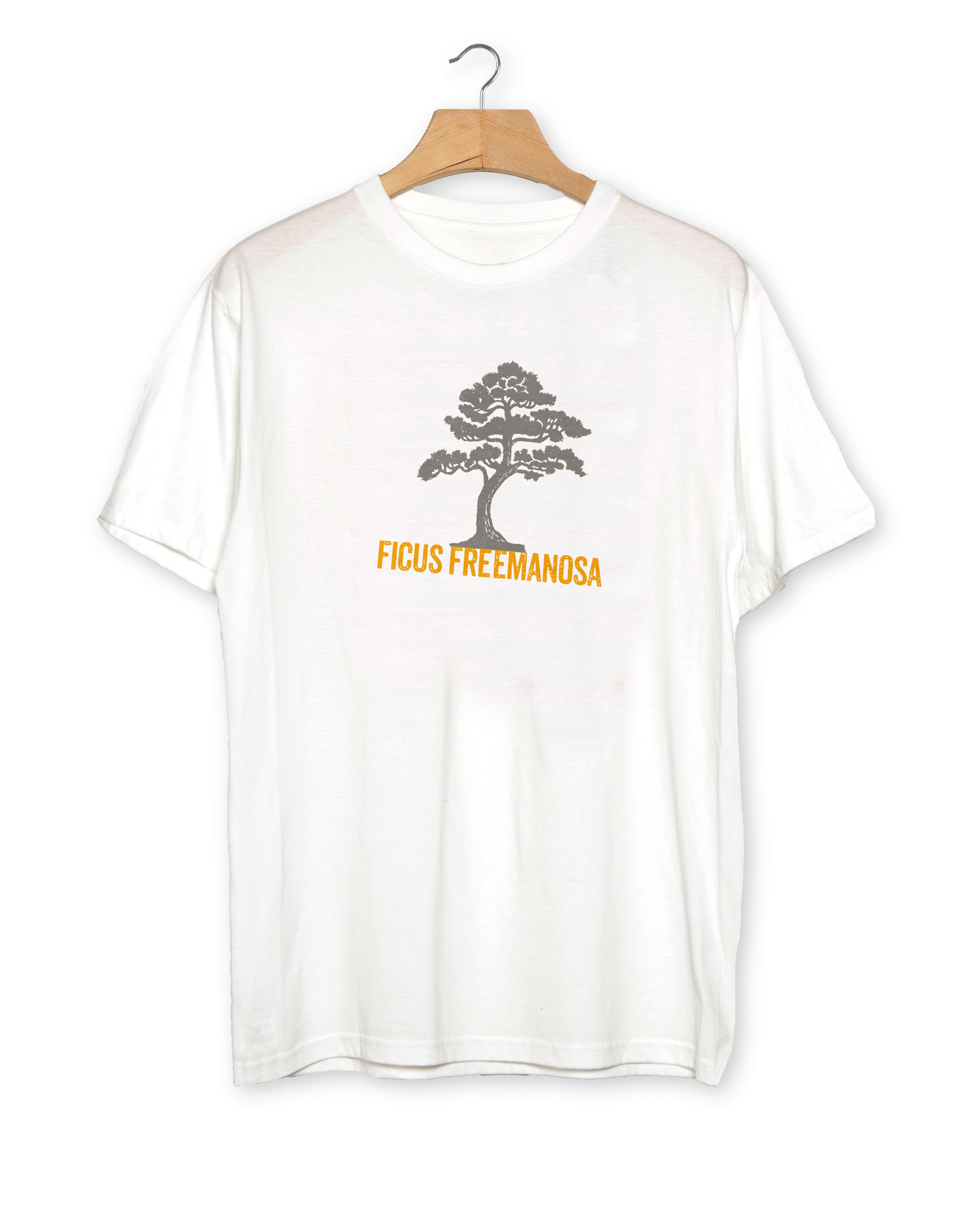 JUBU White T-Shirt Mockup