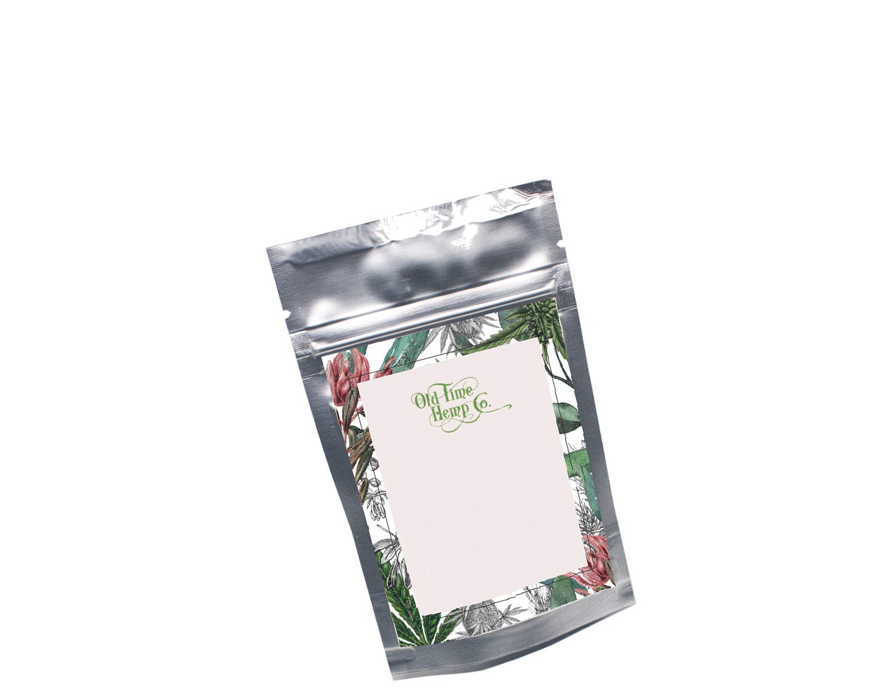 Hemp Gummy Bear Packaging Mock up