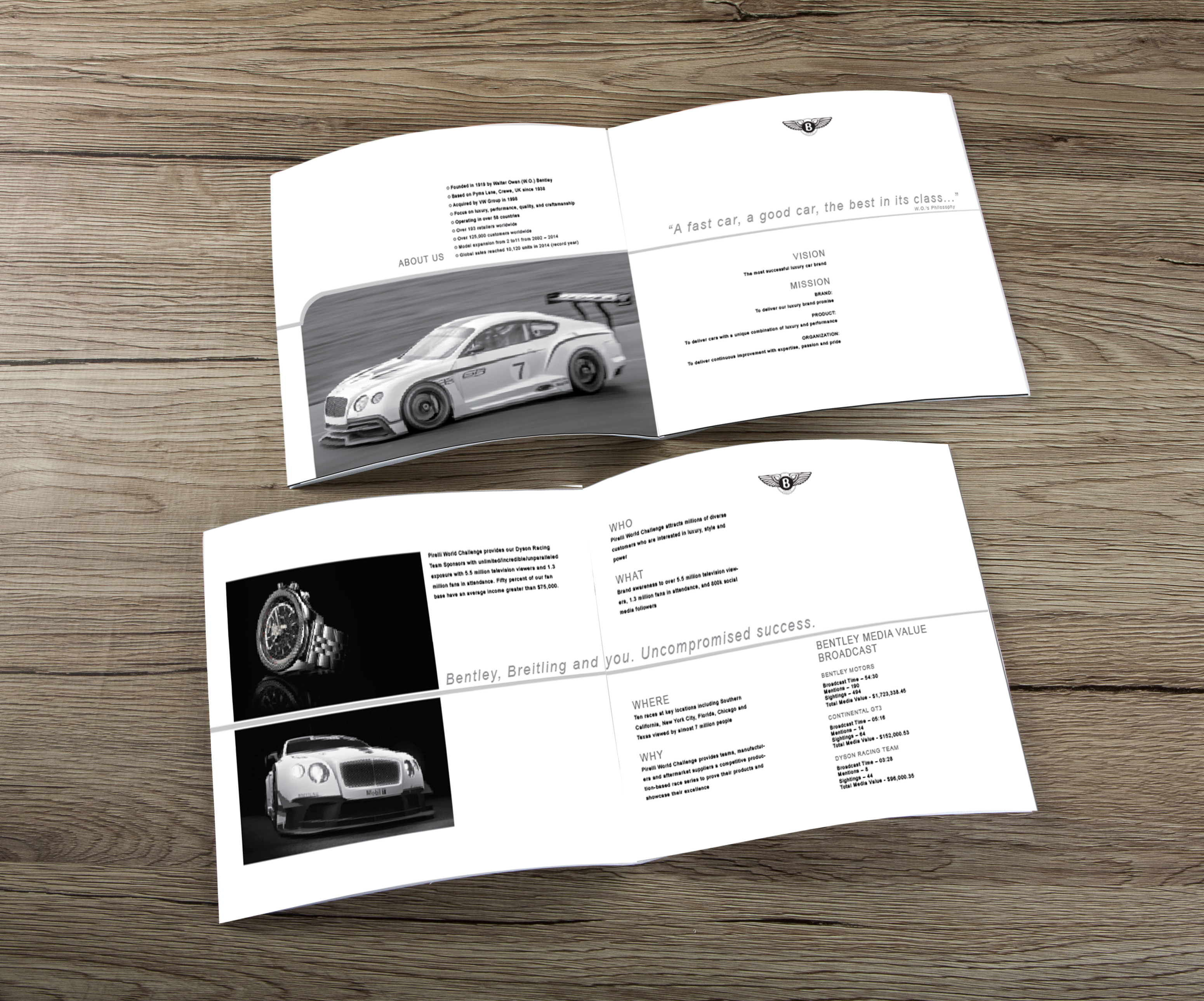 Breitling/Bentley Brochure