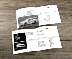 Bentley/Breitling brochure