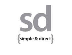 Simple and Direct Logo