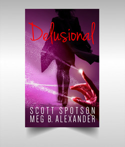 Book Cover Design - Delusional