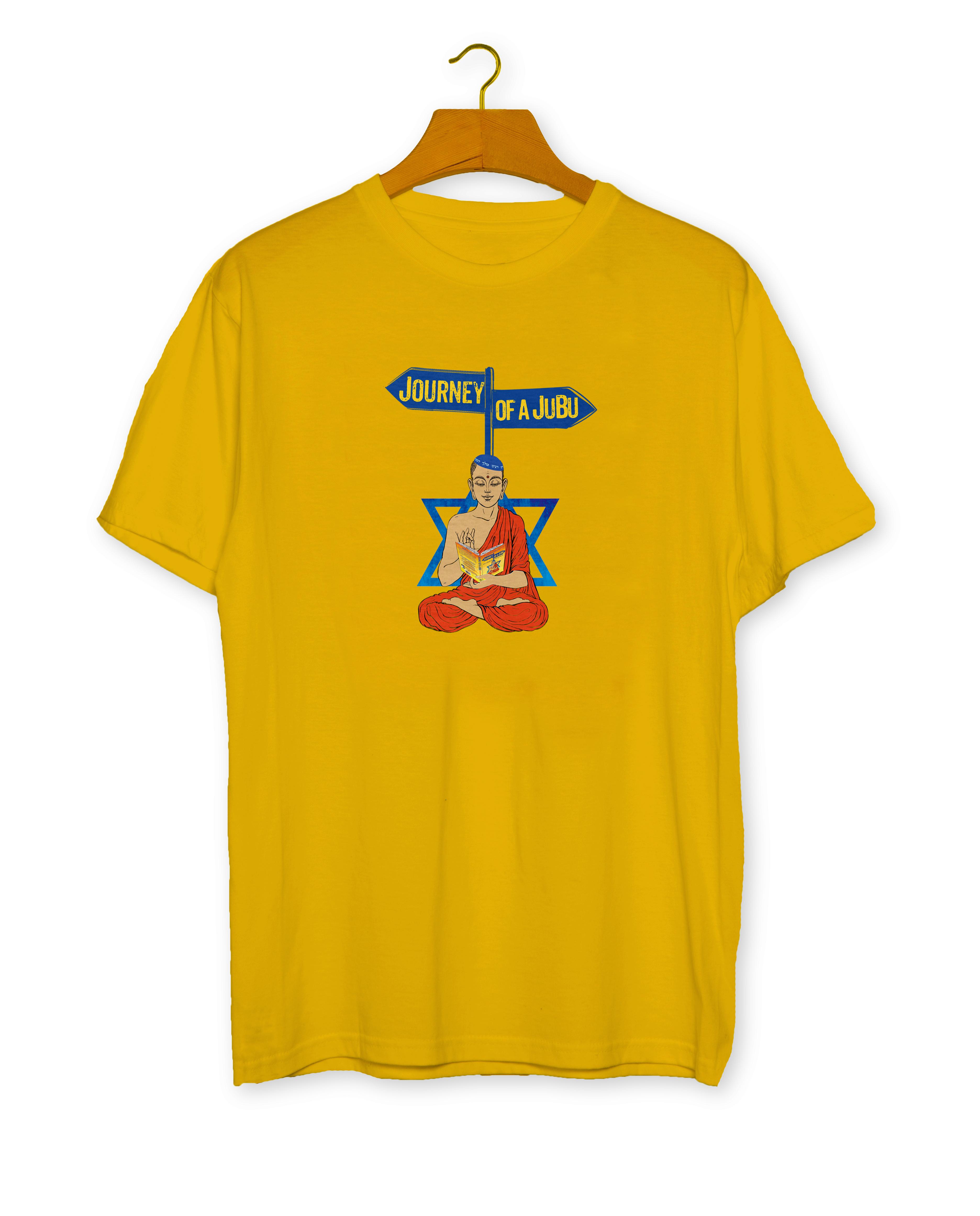 JUBU Yellow T-Shirt Mockup