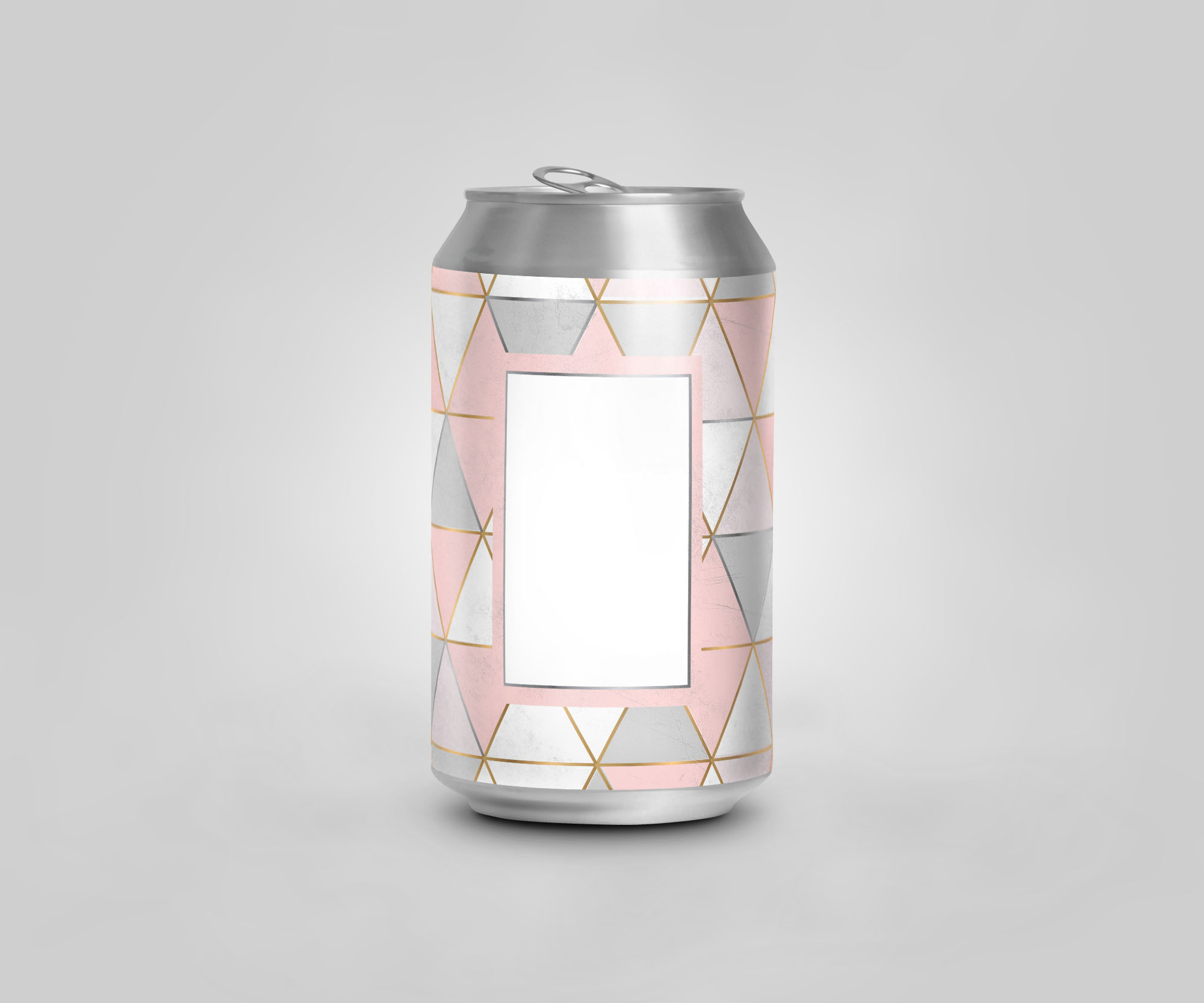 Can Mock up,  Geometric