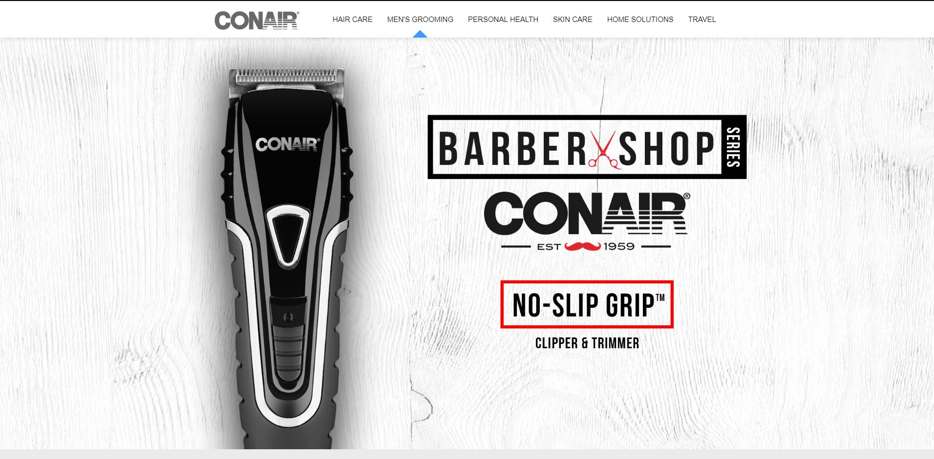 Conair - Mens grooming Banner Design