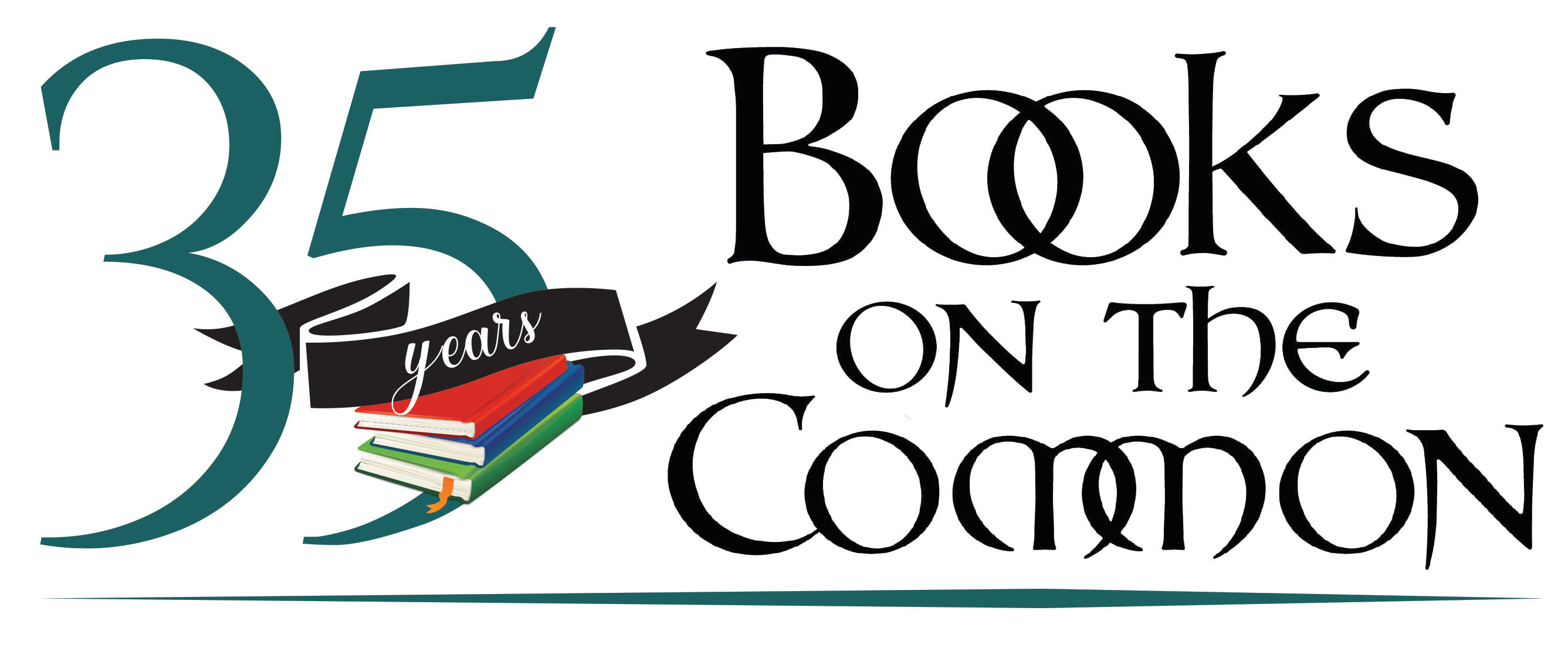 BookOnTheCommon Ridgefield, CT 35 years Logo Design
