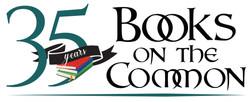 BookOnTheCommon Ridgefield, CT 35 years Logo Design