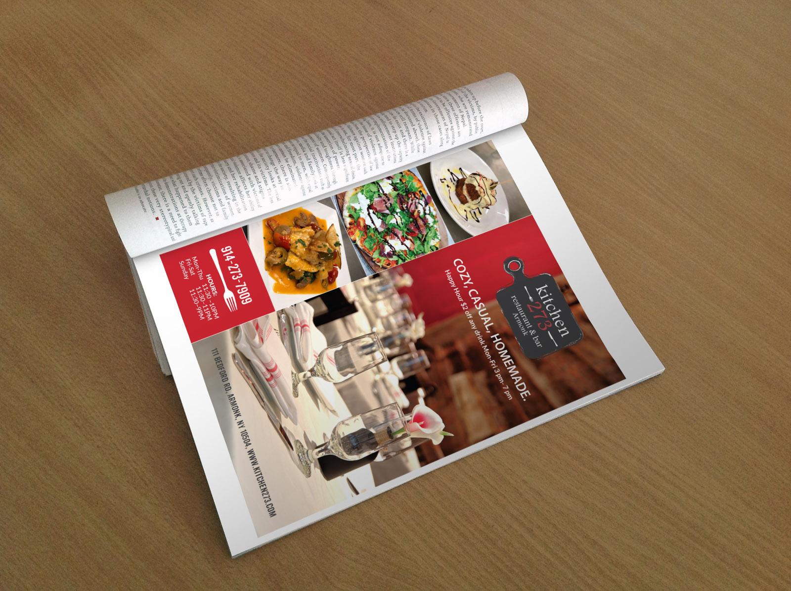 Kitchen 273 Advertising Design