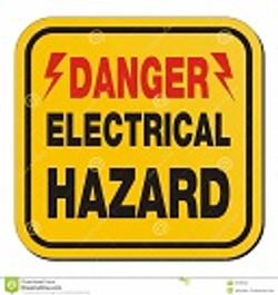 danger-electrical-hazard-yellow-sign