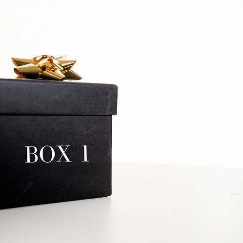 Home Treatment Box 1 - Skincare Routine
