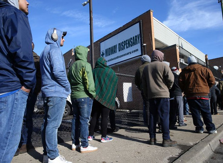 Tired of Standing In Line for Marijuana in Illinois