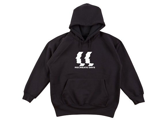 Logo Hoodie, Black