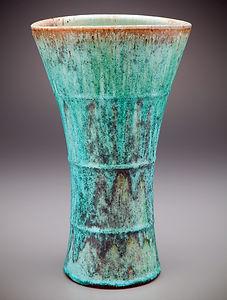 Micro-Crystalline Wood fired Flute Vase