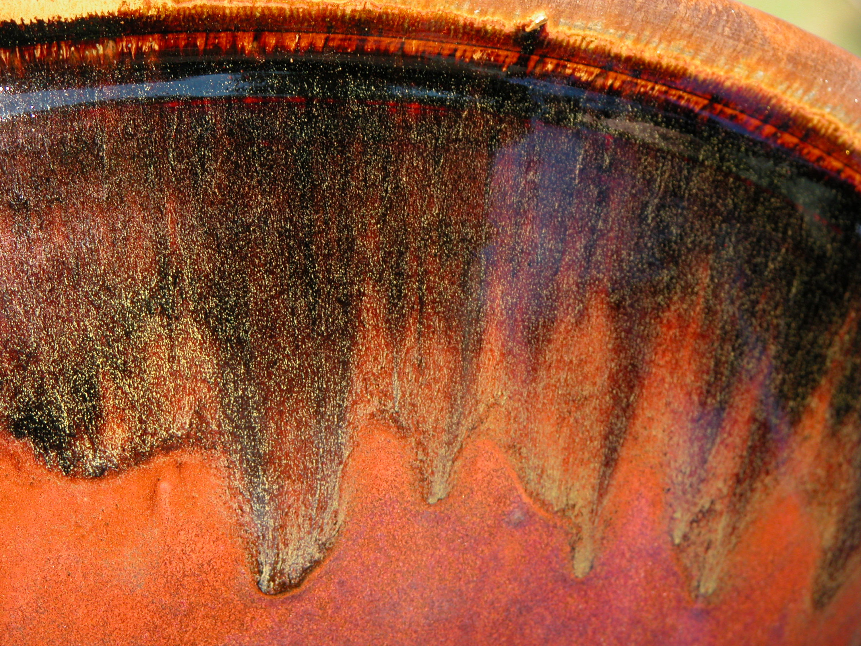 Tenmoku Bowl- detail- Kate Johson