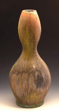 Micro-Crystalline Hourglass Vase