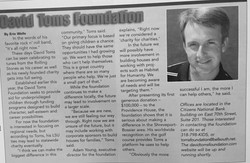 David Toms interview