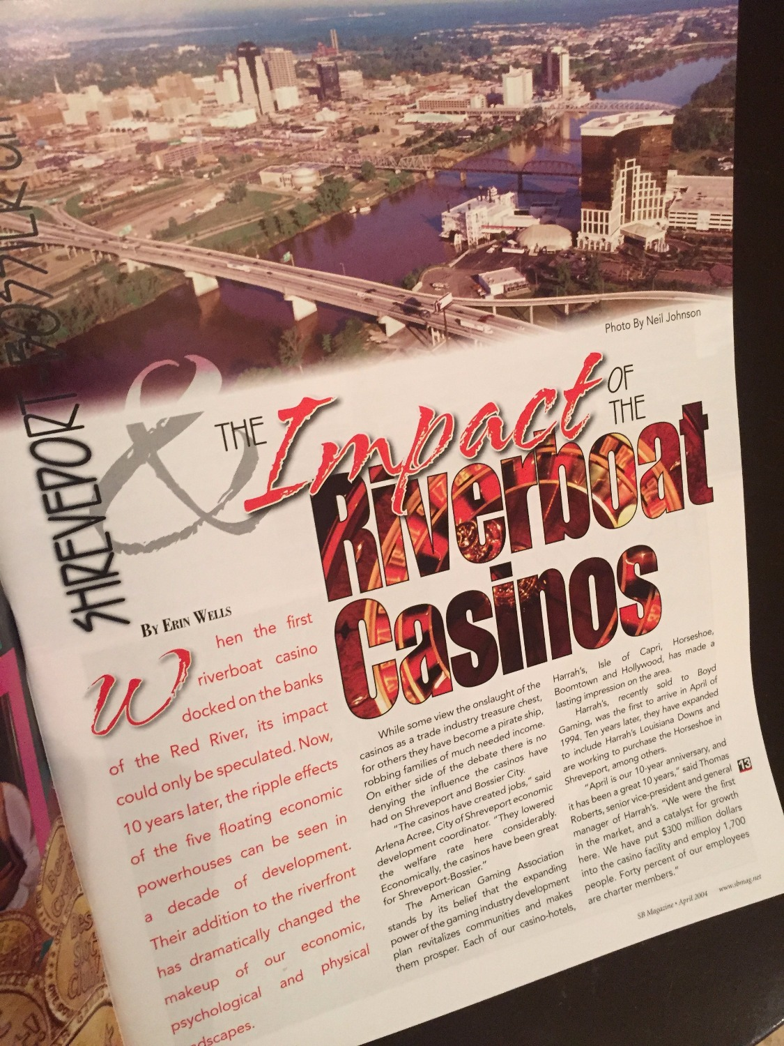 Casino spread SB Mag