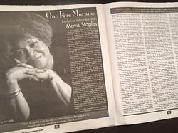 Mavis Staples Interview