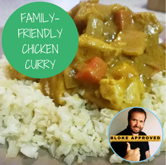 Family-Friendly Chicken Curry